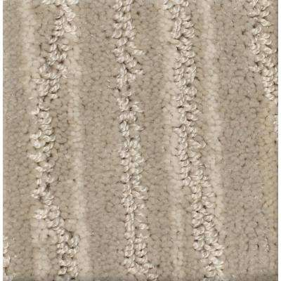Carpet Sample - Jump Line II - Color Stride Pattern 8 in. x 8 in.
