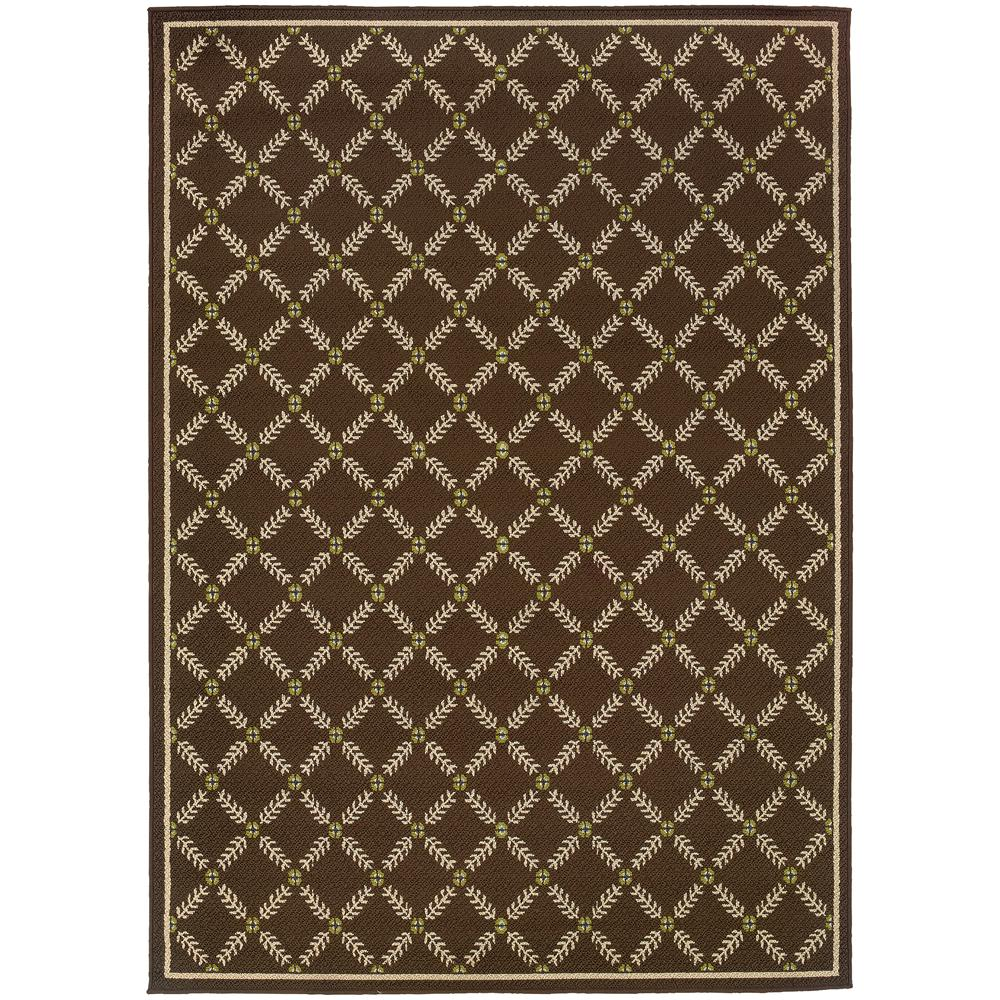 Home Decorators Collection Seaside Brown 7 Ft 10 In X 10