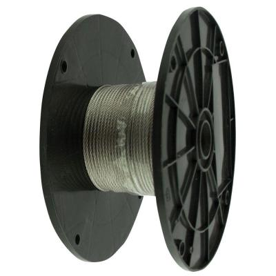 1/8 in. x 125 ft. Stainless Steel Uncoated Wire Rope