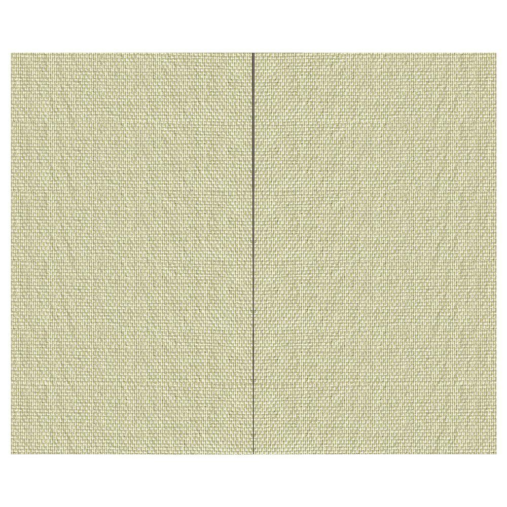 44 sq. ft. Angora Fabric Covered Top Kit Wall Panel