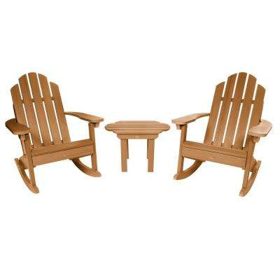 Classic Wesport Toffeee 3-Piece Recycled Plastic Patio Conversation Set