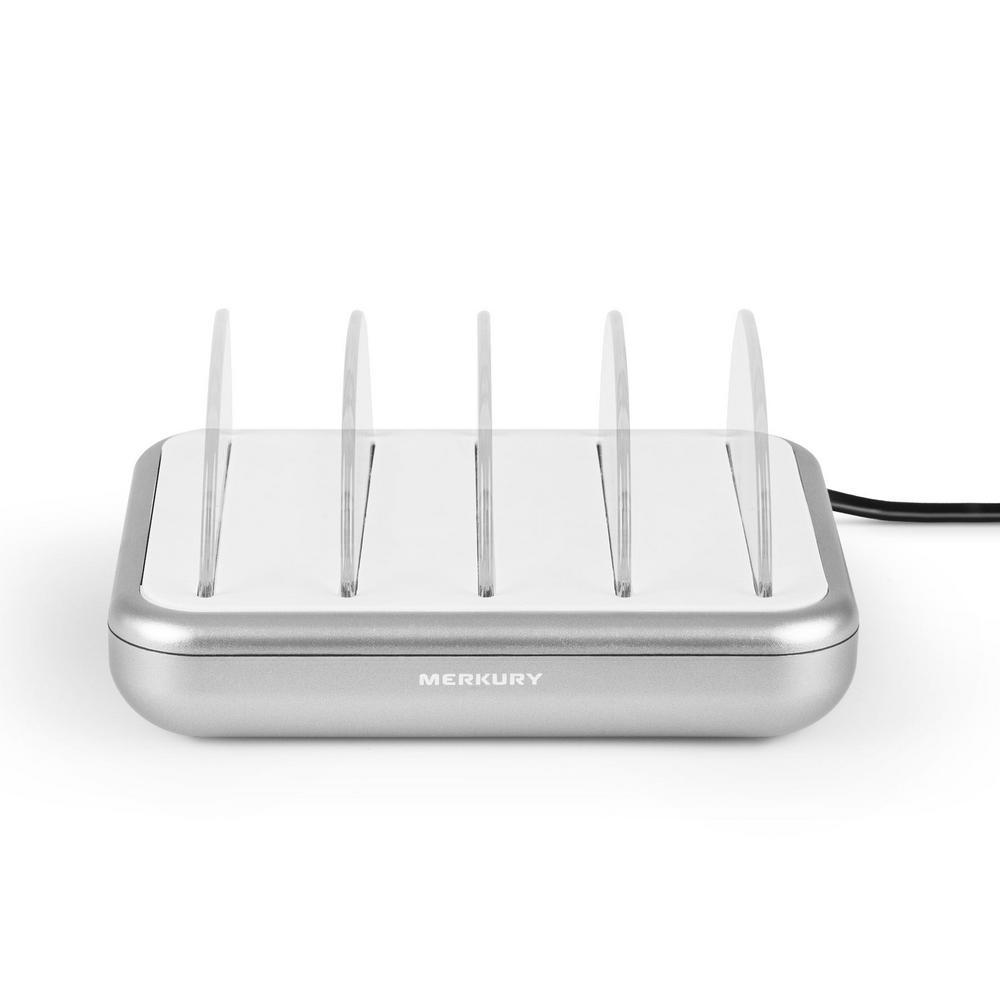 4.8 Amp 4-Port USB Charging Station