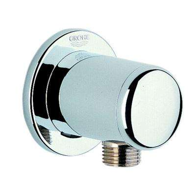 Wall Supply Elbow in StarLight Chrome for Handshower Hoses