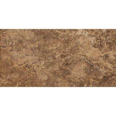 Palatina Olympus Brown 12 in. x 24 in. Porcelain Floor and Wall Tile (15.38 sq. ft. / case)