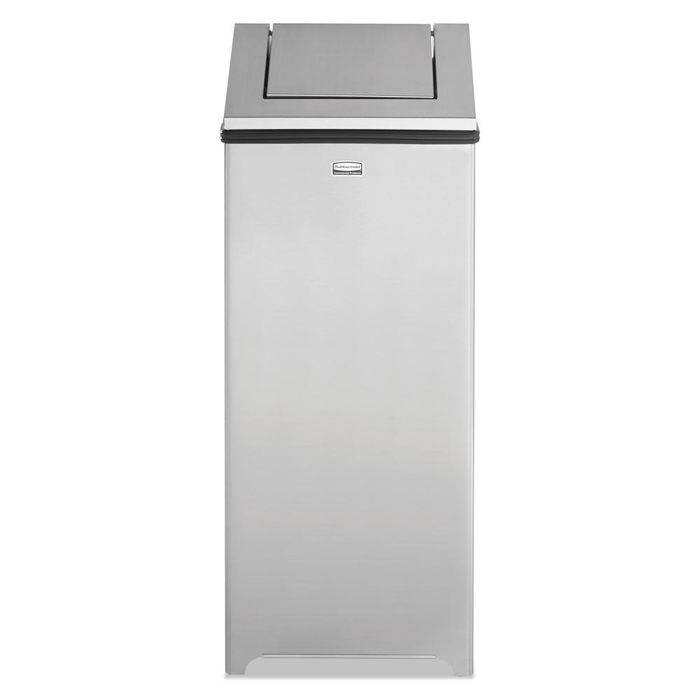 Rubbermaid Commercial Products 24 Gal Stainless Steel Hinged Top