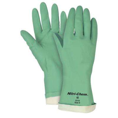 Nitri-Chem Flock Lined Nitrile Gloves