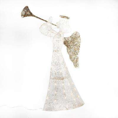 42 in. H Trumpeting 2D Angel