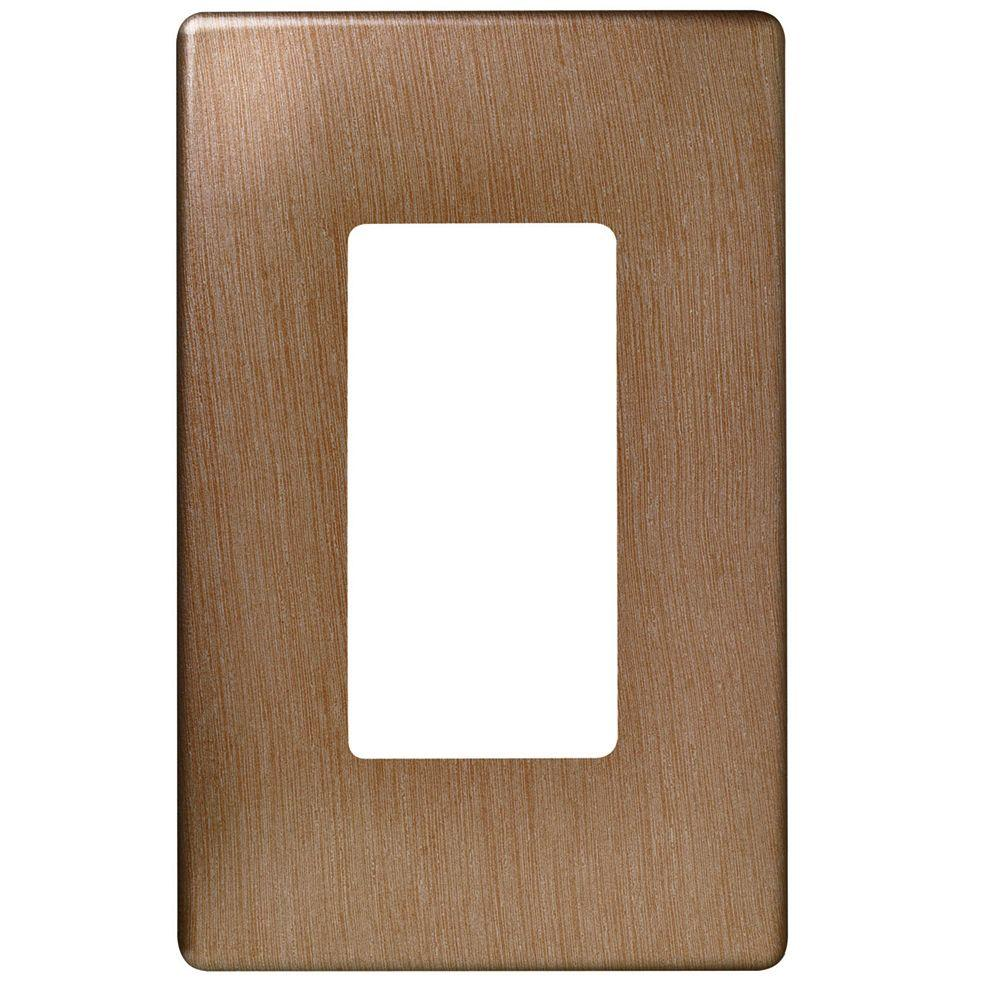 Legrand Pass Amp Seymour 1 Gang Screwless Decora Wall Plate