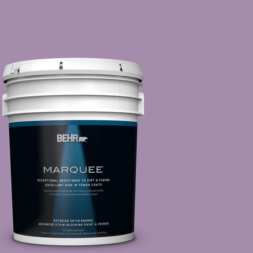 5-gal. #M100-4 Aged to Perfection Satin Enamel Exterior Paint