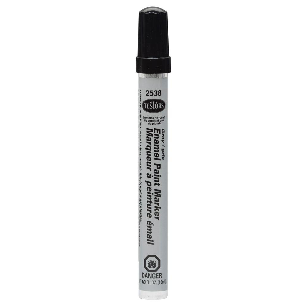 Gray Gloss Enamel Paint Marker (6-Pack)
