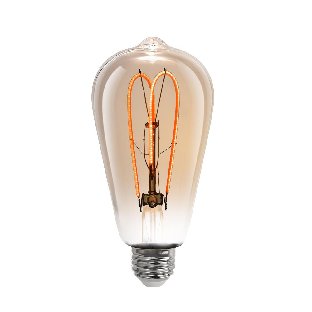 Feit Electric 6 5 Watt Soft White 2000k St19 Dimmable