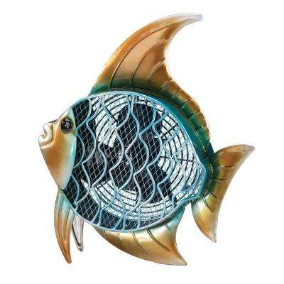 7 in. Figurine Fan-Tropical Fish