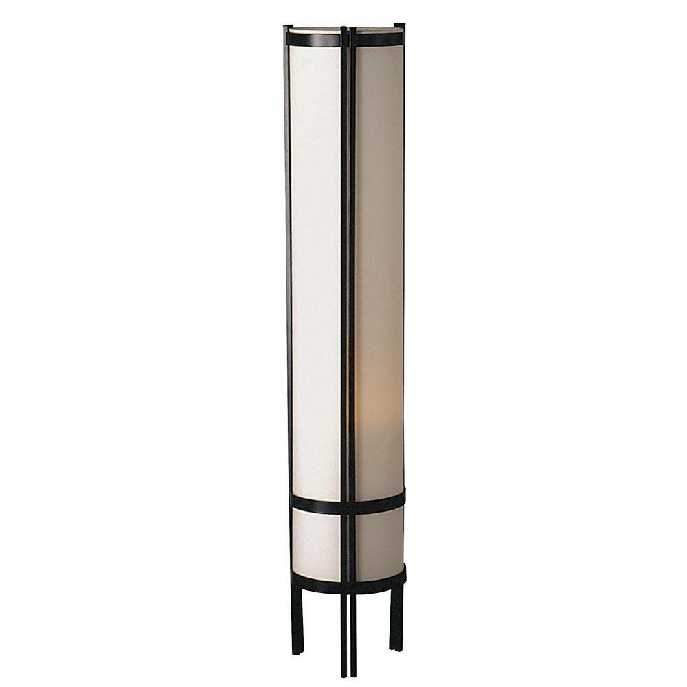 on sale a96ac 2a87a ORE International Home Deco 48 in. Black Floor Lamp