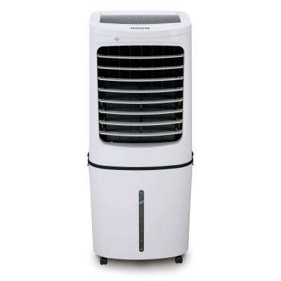 500 CFM 3-Speed 2-In-1 Evaporative Cooler (Swamp Cooler) and Fan with Removable Water Tank for 450 sq. ft. - White