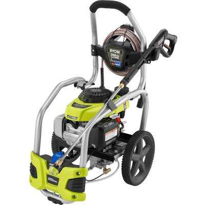 3,100 PSI 2 5 GPM Honda Gas Pressure Washer with Idle Down