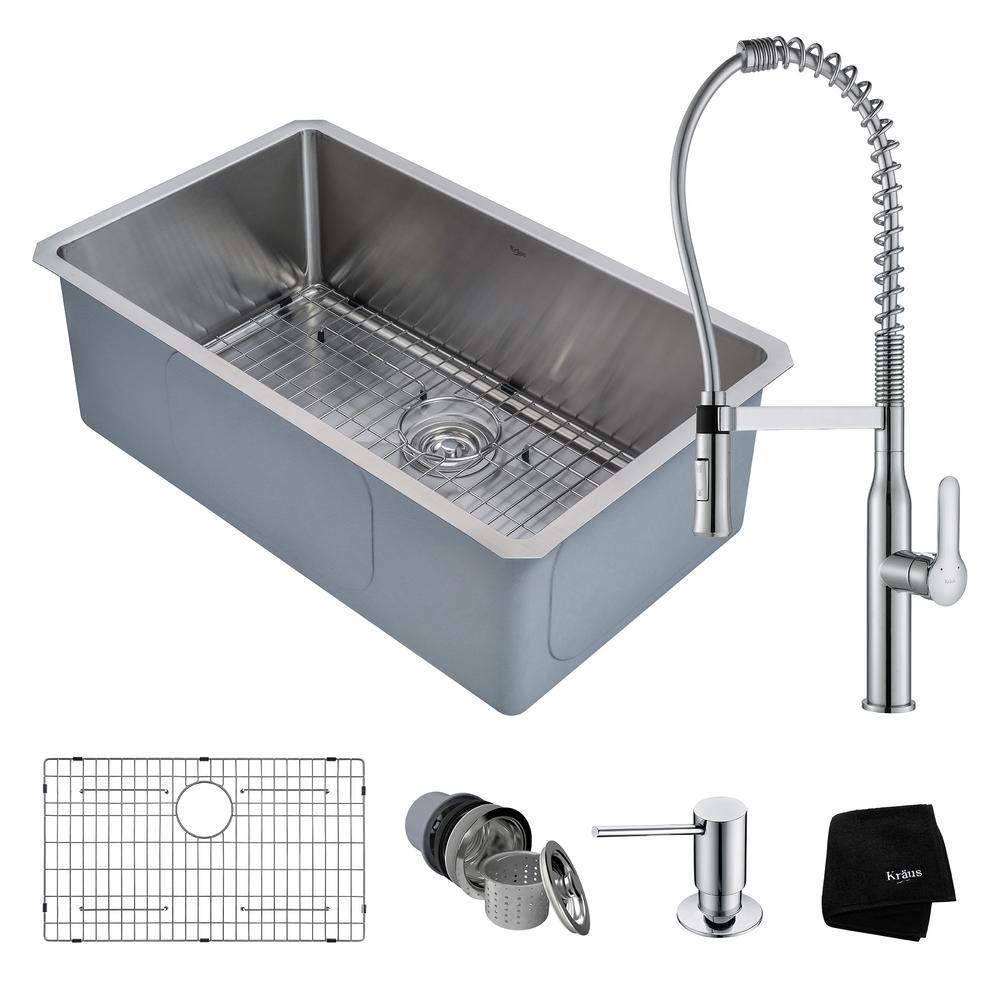 Define Kitchen Sink Kitchen Sinking Meaning Large Size Of: KRAUS Handmade All-in-One Undermount Stainless Steel 30 In