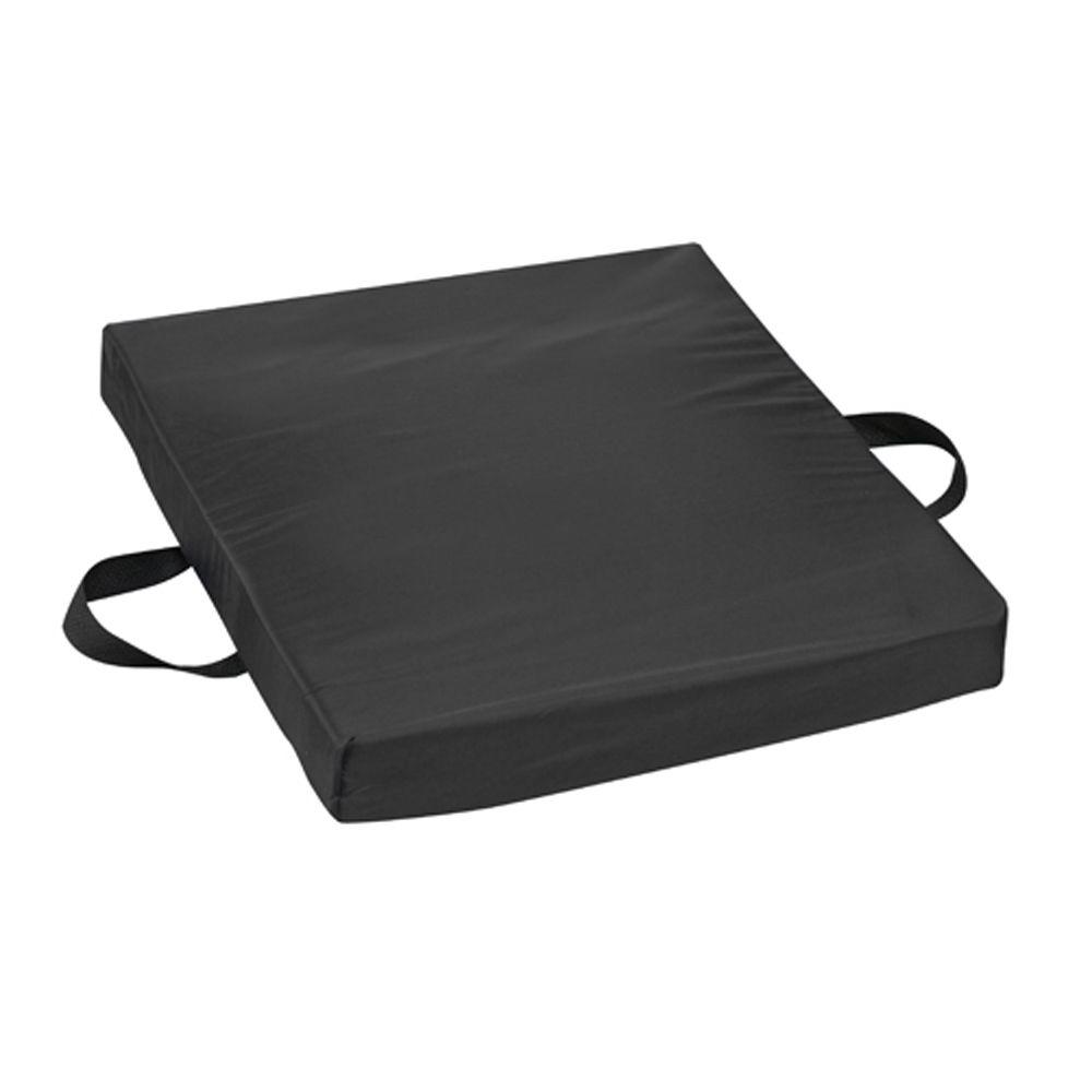 Gel Flotation Cushion in Black