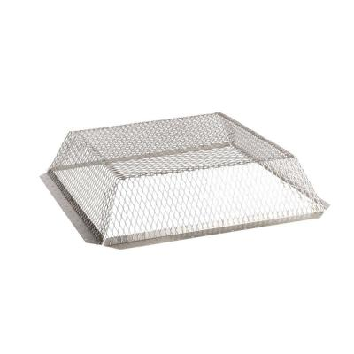 VentGuard 25 in. x 25 in. x 6 in. Roof Wildlife Exclusion Screen in Stainless Steel