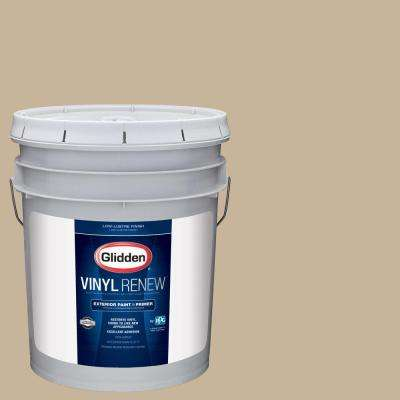 5 gal. #HDGWN40 Jefferson House Tan Low-Lustre Exterior Paint with Primer