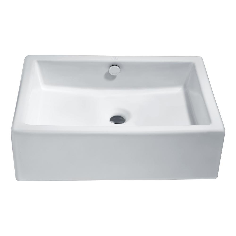 ANZZI Deux Series Ceramic Vessel Sink in White was $169.99 now $127.49 (25.0% off)