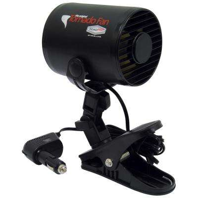 12-Volt Tornado Fan with Mounting Clip