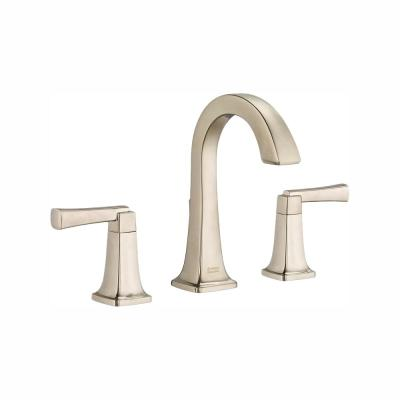 Townsend 8 in. Widespread 2-Handle High-Arc Bathroom Faucet with Speed Connect Drain in Brushed Nickel