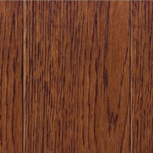 Home Legend Take Home Sample - Wire Brush Oak Toast Solid Hardwood Flooring - 5 inch x 7... by Home Legend