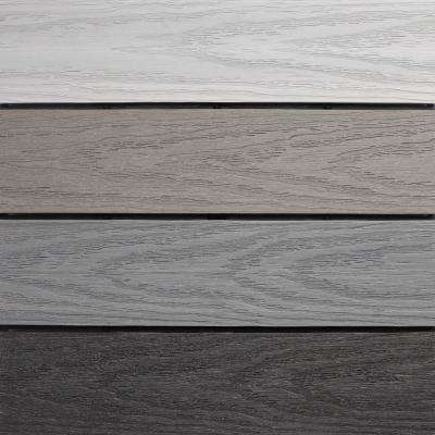 UltraShield Naturale 1 ft. x 1 ft. Quick Deck Outdoor Composite Deck Tile in Mixed Gray (10 sq. ft. per Box)
