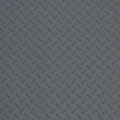 5 ft. x 7.5 ft. Battleship Gray Motorcycle Mat