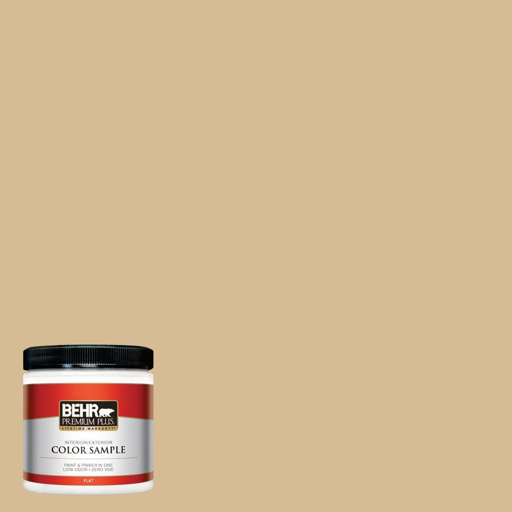 BEHR Premium Plus 8 oz. #330F-4 Pebble Path Interior/Exterior Paint Sample