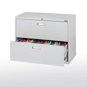 600 series 28 in h x 36 inw x 19 in d - 2 Drawer Lateral File Cabinet