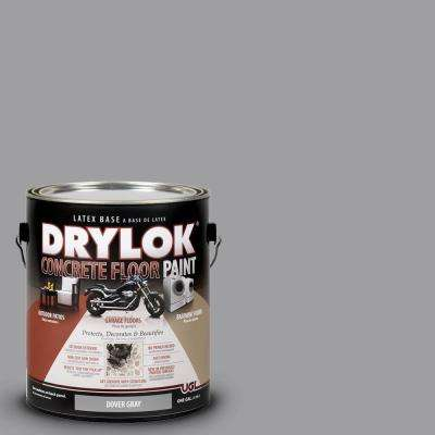 1 gal. Dover Gray Latex Concrete Floor Paint