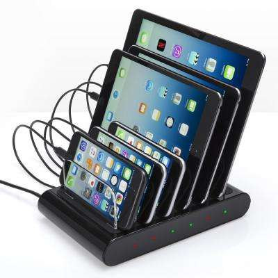 Charge Station Pro 50-Watt 6-Port USB Desktop Charger