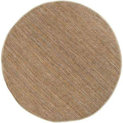 Rio Natural Jute 8 ft. x 8 ft. Round Area Rug