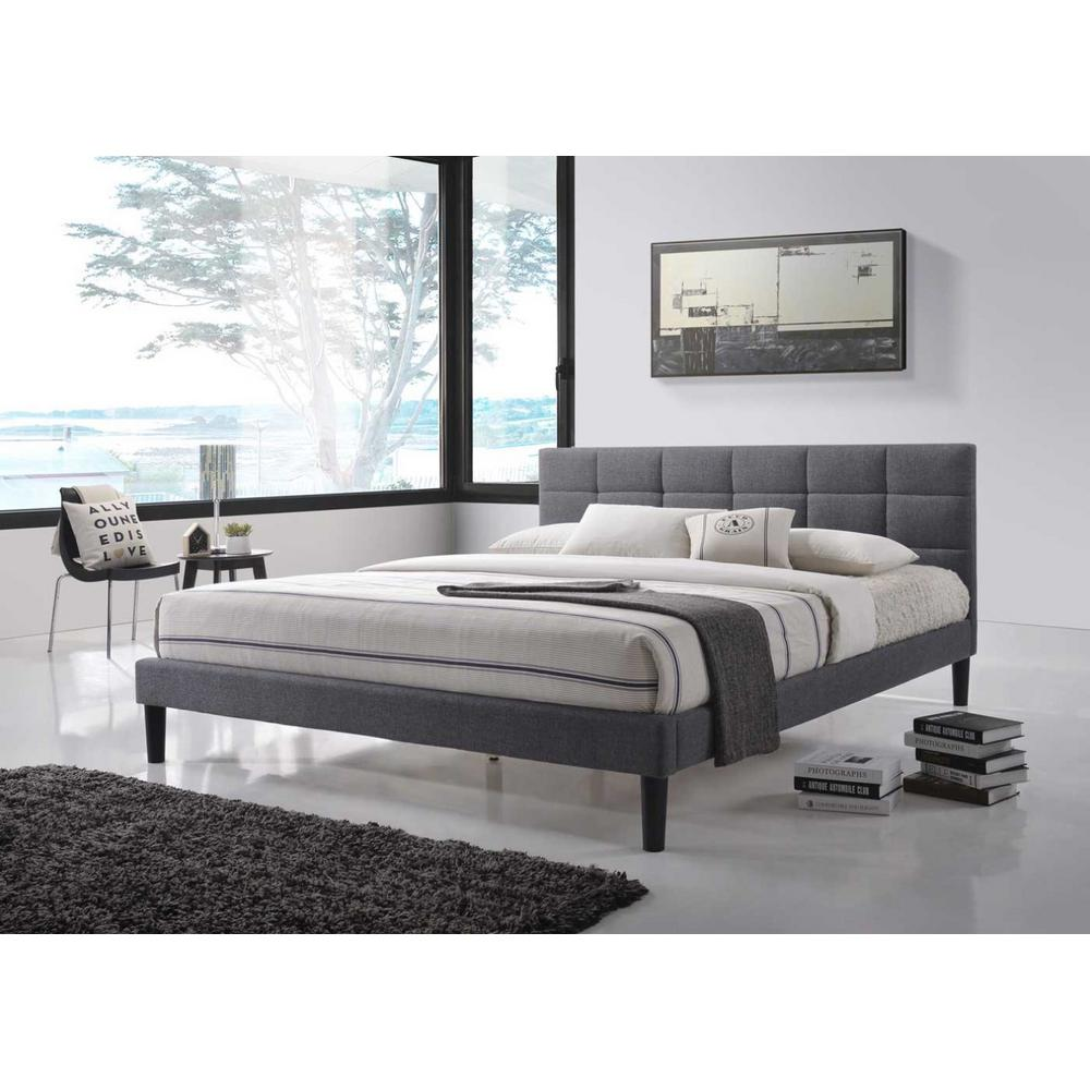 Beige - Beds & Headboards - Bedroom Furniture - The Home Depot