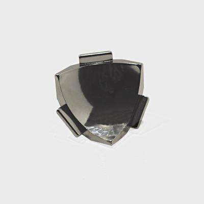 Internal Vert. Angle NS4 Natural 1-1/2 in. x 1-1/2 in. Complement Stainless Steel Tile Edging Trim