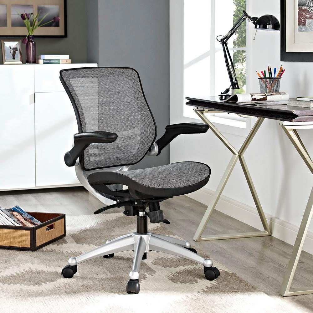MODWAY Edge All Mesh Office Chair In Gray-EEI-2064-GRY