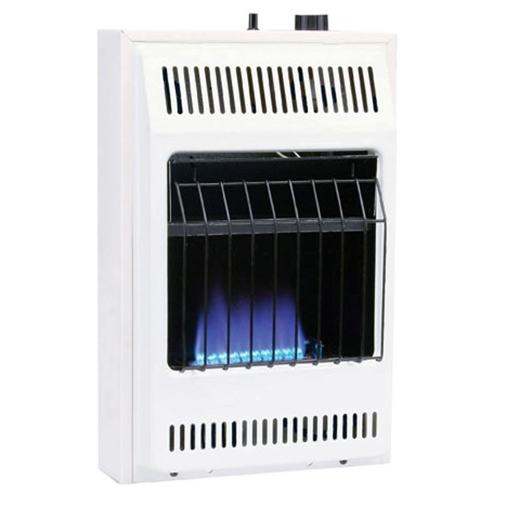 Williams 10000 BTUhr Blue Flame Propane Gas Heater with Automatic
