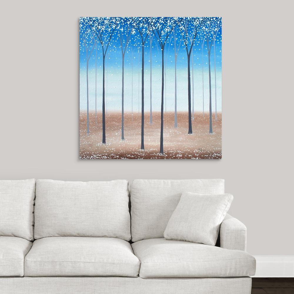 Greatcanvas Fantasy Forest By Herb Inson Canvas Wall Art 2523744 24 36x36 The Home Depot