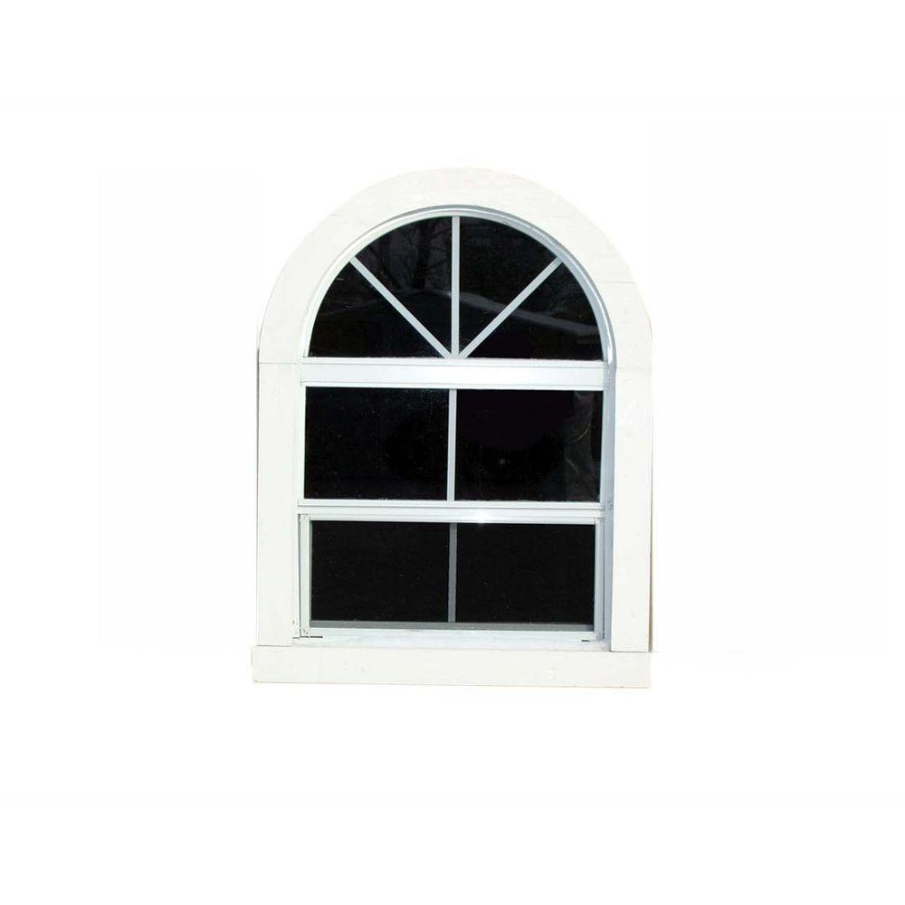 Handy Home Products Large Round Top Window-DISCONTINUED