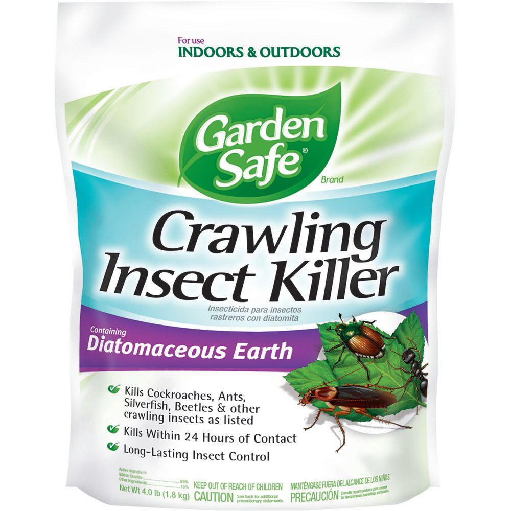 Garden safe 4 lb diatomaceous earth crawling insect - How to use diatomaceous earth in the garden ...