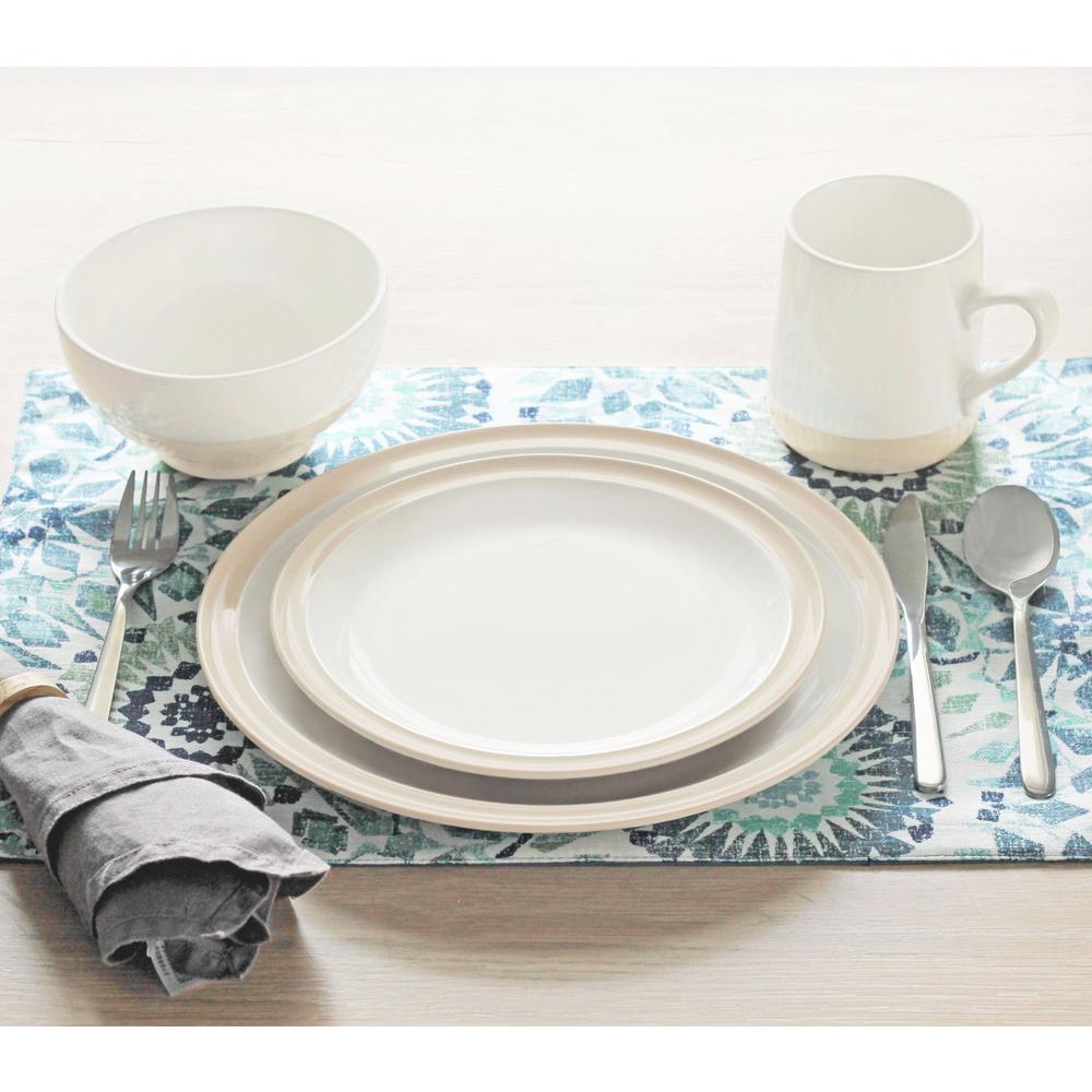 Grayden 16-Piece White Set Dinnerware