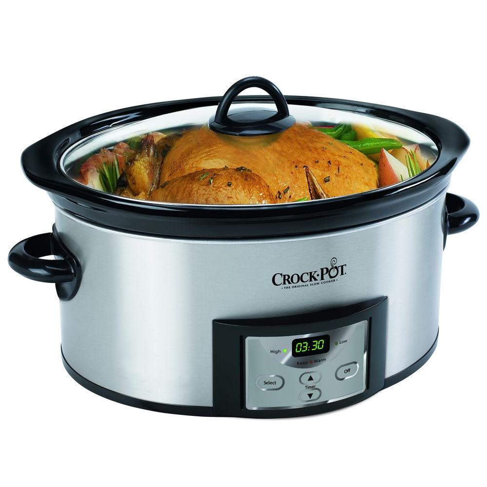 6 Qt. Programmable Countdown Cook and Carry Slow Cooker