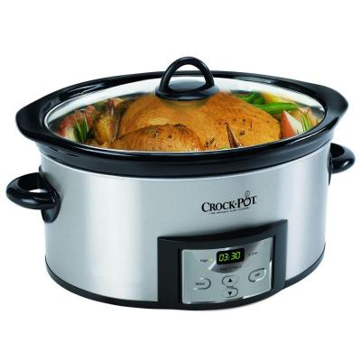 6 Qt Programmable Countdown Cook And Carry Slow Cooker