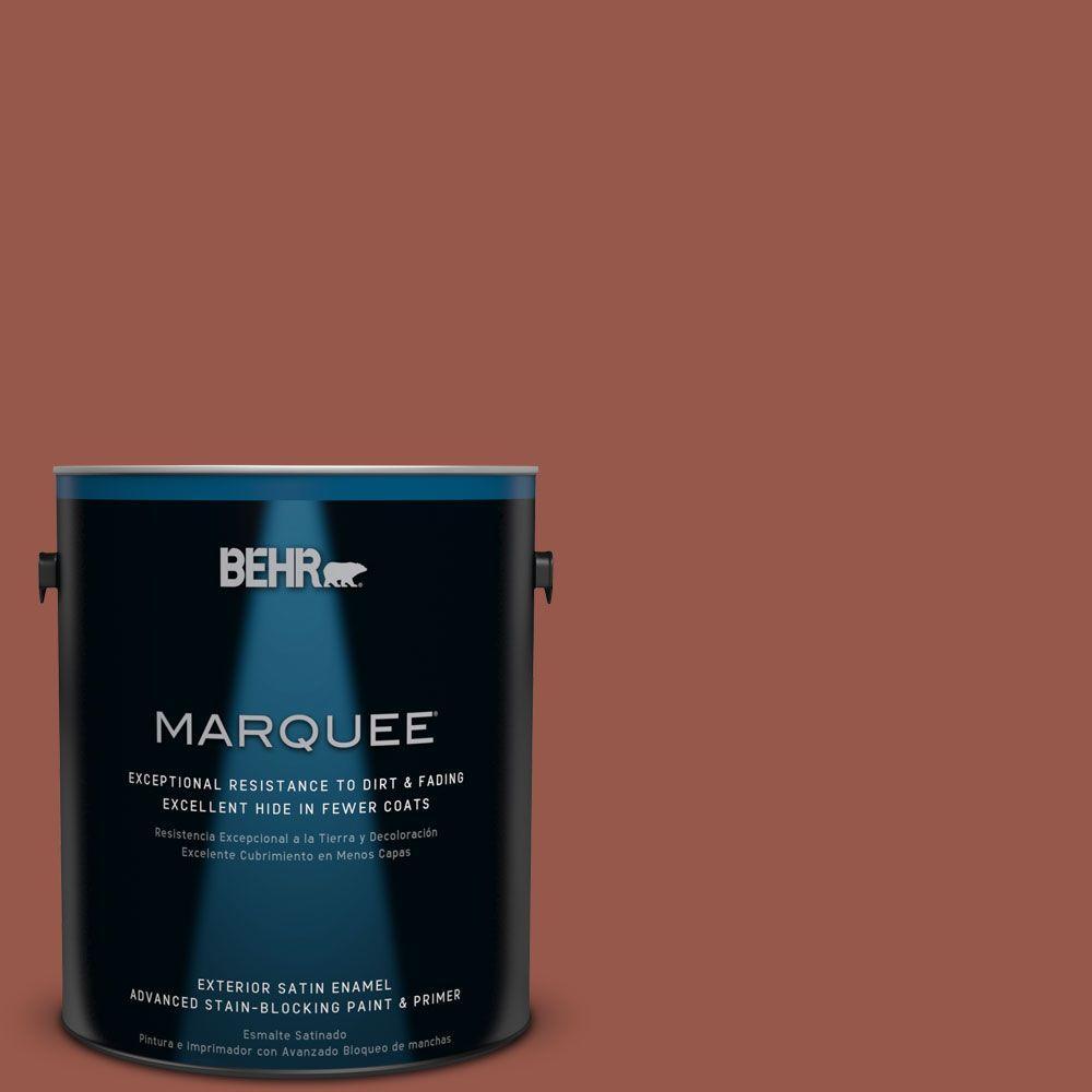 1-gal. #BIC-47 Caliente Satin Enamel Exterior Paint