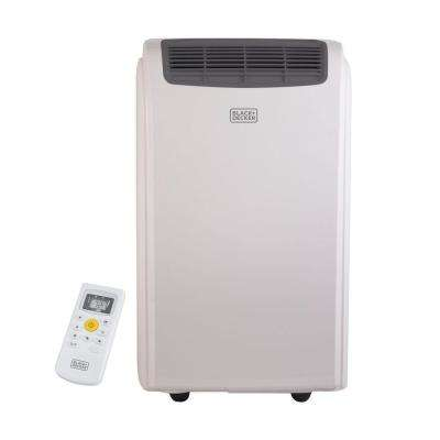 14,000 BTU Portable Air Conditioner with Dehumidifier and Remote Control in White