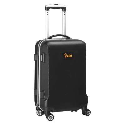 NCAA Arizona State Black 21 in. Carry-On Hardcase Spinner Suitcase