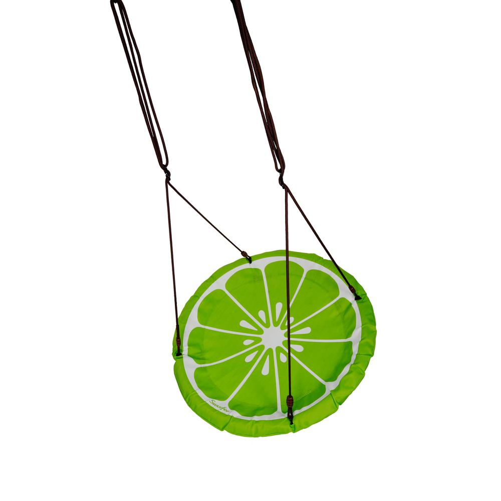 Swurfer Lime Slice 40 In Round Multi Person Swing Ssw40