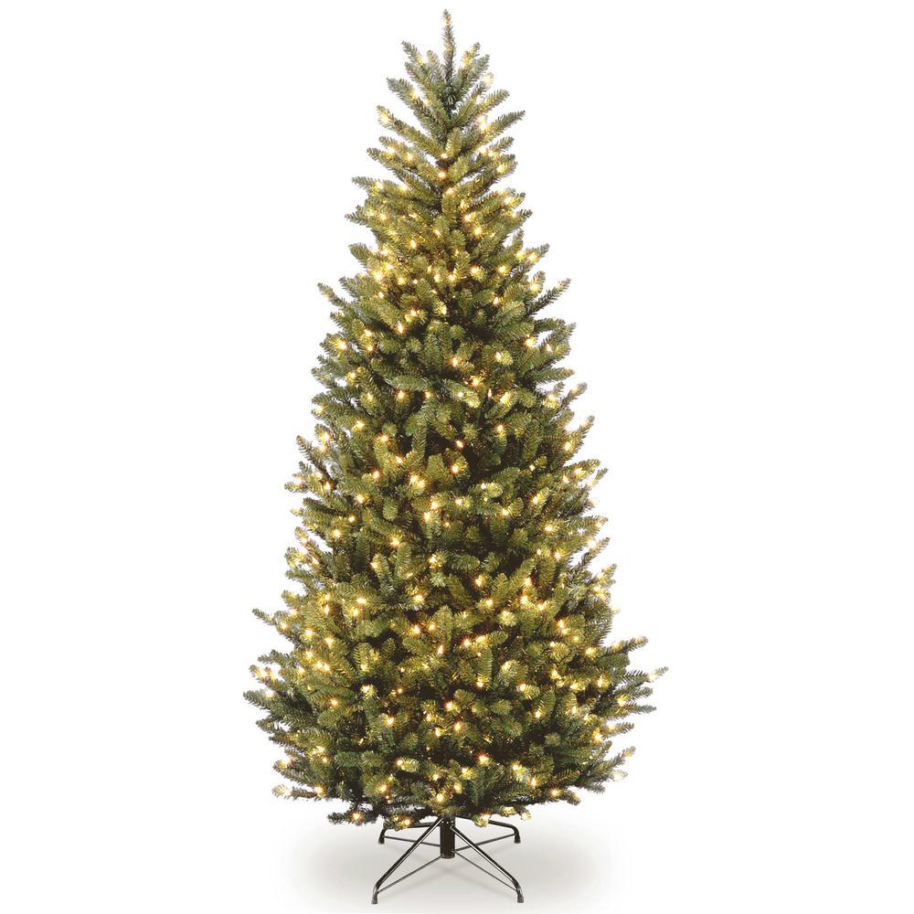 National Tree Company 9 Ft Natural Fraser Slim Fir Tree