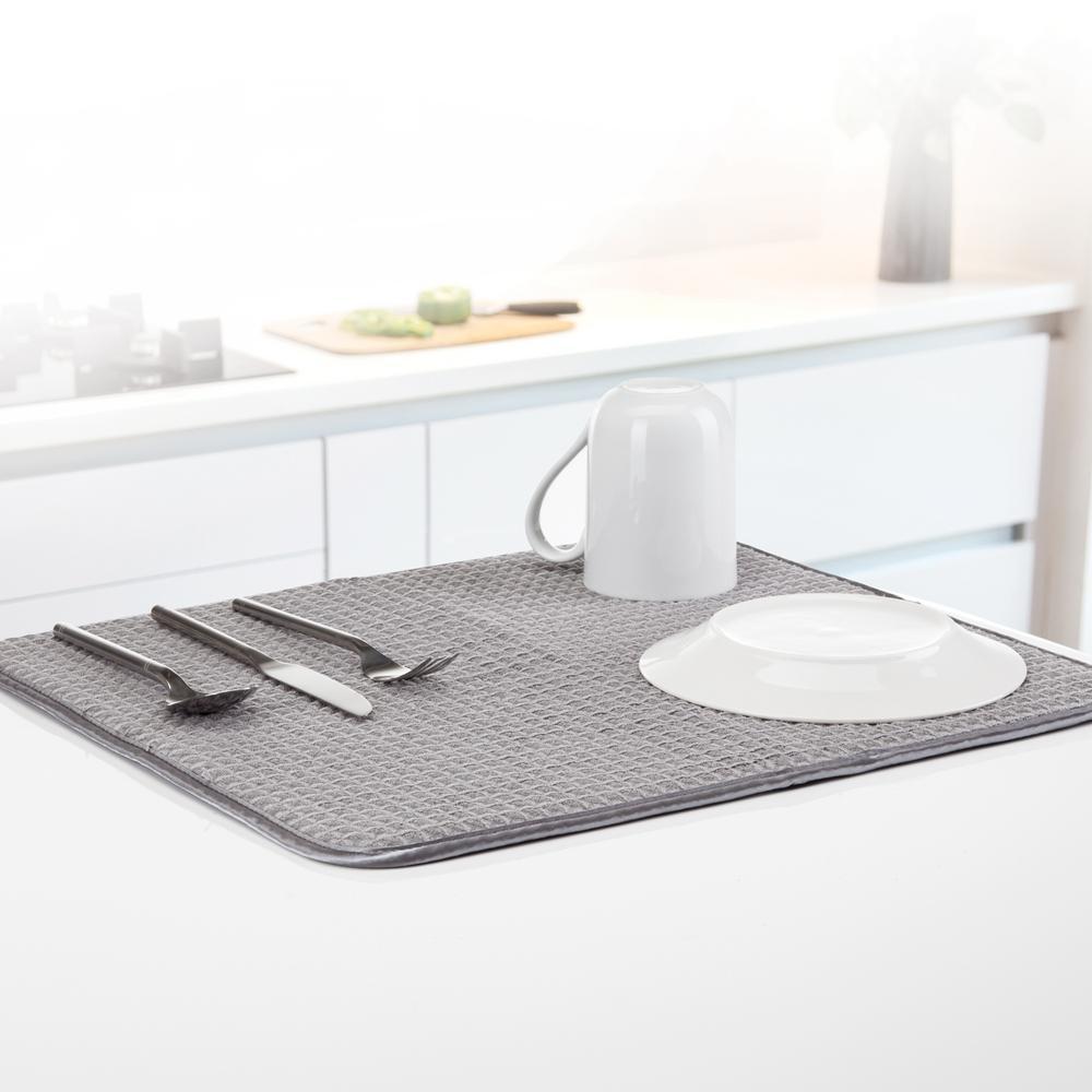 Anti-Bacterial Gray Drying Mat